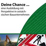 Flyer für Berufsförderungswerk Bau Sachsen e.V. - aussen