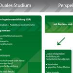 Flyer für Berufsförderungswerk Bau Sachsen e.V. - innen