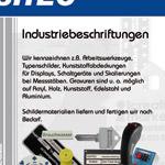 Issitec Einleger - Industriebeschriftung