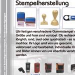 Issitec Einleger - Stempelherstellung