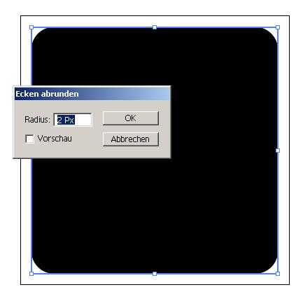 Simple RSS-Button - Grundfläche