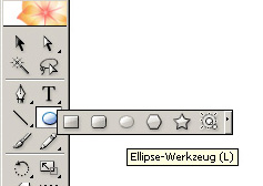 Simple RSS-Button - Ellipsen-Werkzeug