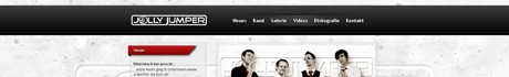 Webseite von Jolly Jumper